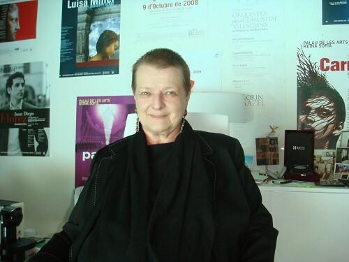 La ya ex intendente, Helga Schmidt, del Palau. (Foto-Agencias)