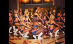 Las Sea Gals de Seattle y las animadoras de los Patriots de Nueva Inglaterra se preparan para el duelo de belleza en el máximo evento deportivo de EEUU (10)