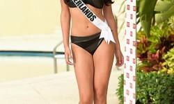 Las candidatas a Miss Universo se divierten y desfilan en bikini (10)
