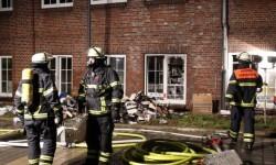 Los bomberos actuaron rápidamente. (Foto-AFP)