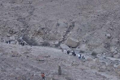Los mineros se declaran en huelga. (Foto-Agencias)