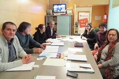 Los representantes de la UCEV han presentado ante Compromís los postulados de las cooperativas de enseñanza.