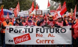 SPAIN-COMPANY-LABOUR-PROTEST