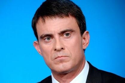 Manuel Valls, primer ministro de Francia. (Foto-AFP)