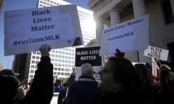 Marcha en recuerdo de Luther King. (Foto-AFP)