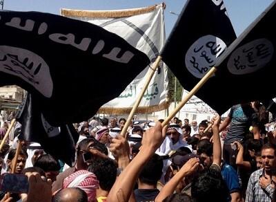 Miembros del Estado Islámico. (Foto-AP)