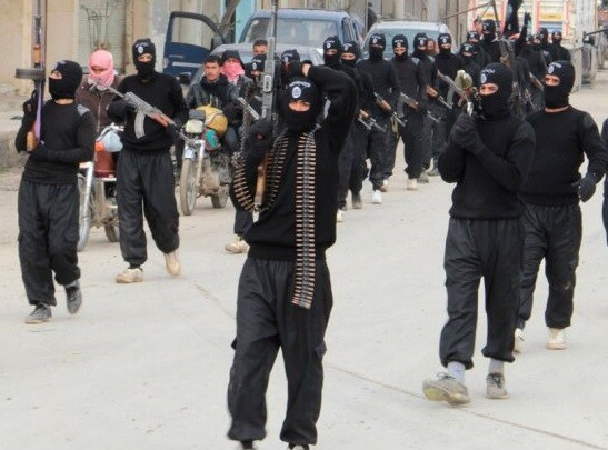 Miembros del Estado Islámico. (Foto-Agencias)