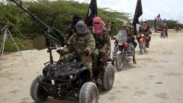 Miembros del grupo terrorista del Boko Haram (Foto-AFP)