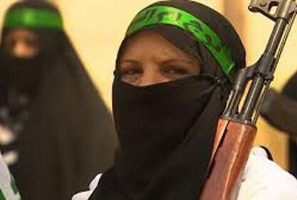 Mujeres que forman parte del Estado Islámico. (Foto-Agencias)