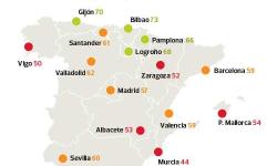 OCU realiza una encuesta sobre la calidad del transporte público en España