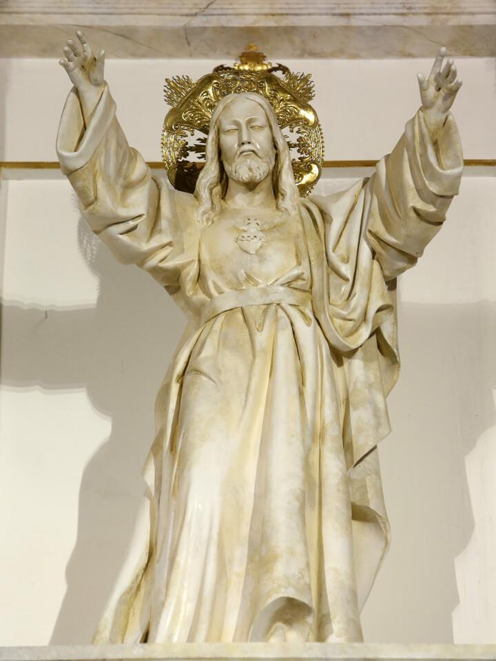 Retablo reformado de la parroquia Cristo Rey. San Vicente (Foto: Alberto Sáiz)