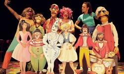 PTV Clowns y el espectáculo 'Ya esta'.