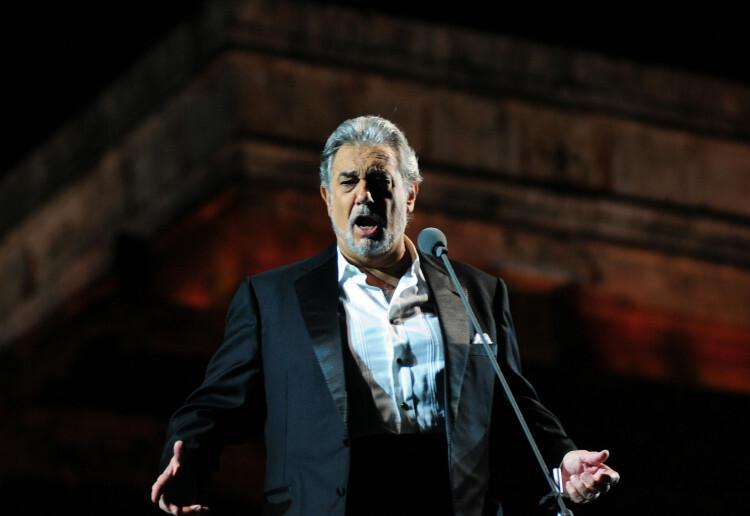 Plácido en una actuación en México (Foto-Agencias)