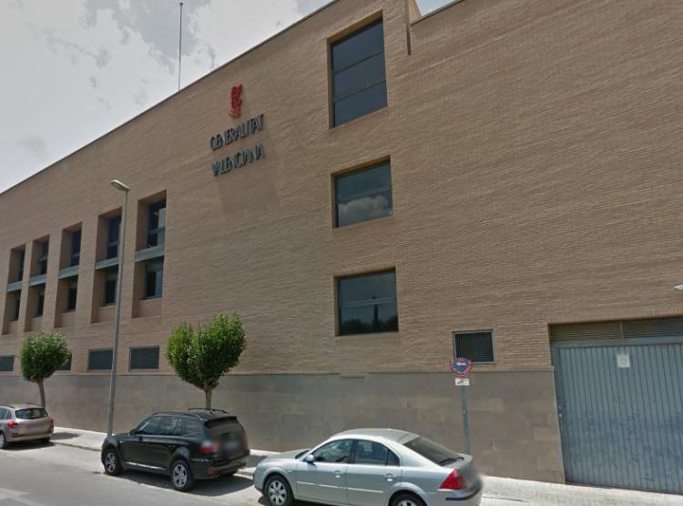 Plaza Cortés Valencianas   juzgados de catarroja