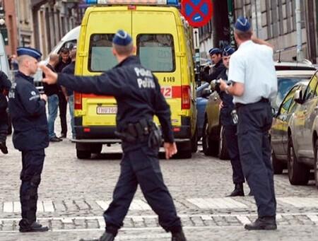 Policía belga en una foto de archivo.