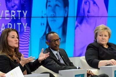 Preocuparon los temas de Grecia y el precio del petróleo en las reuniones de Davos. (Foto-AP)