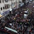 Protestas contra portada del Charlie Hebdo en Jordania. (Foto-AP)