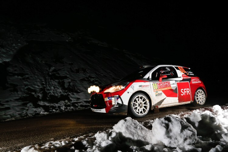 Gilbert Quentin, Jamoul Renaud, Citroen DS3 R3T, Action