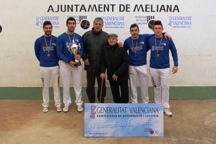Quart de Poblet intenta revalidar el título de campeón conseguido en el 2014