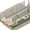 Recreación de la muralla saudí. (Foto-Agencias)