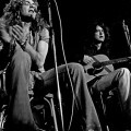 Robert Plant and Jimmy Page, dos de las 'almas' de Led Zeppelin.