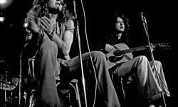 Robert Plant and Jimmy Page, dos de las 'almas' de Led Zeppelin.