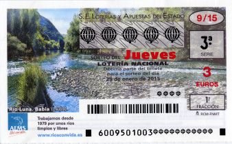 SORTEO DE LOTERíA NACIONAL DEL JUEVES 29