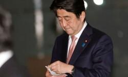 Shinzo Abe, Primer Ministro de Japón. (Foto-AP)