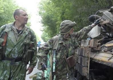 Soldados prorusos. (Foto-AGencias)