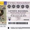 Sorteo de la loteria Nacional Extraordinario de Invierno 10 de enero de 2015