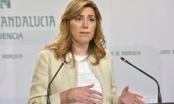 Susana Díaz en una de sus intervenciones como Presidenta d ela Junta de Andalucia. (Foto-Agencias) - copia