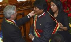 Tercer mandato para Evo Morales. (Foto-AP)