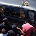 Traslado del féretro de Nisman al cementerio. (Foto-Agencias)