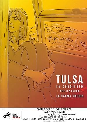 Tulsa en concierto