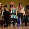 Un momento del musical 'Los 7 magníficos'.