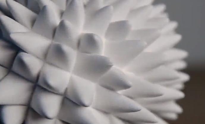 Video  las hipnóticas ilusiones ópticas creadas con impresora 3D   Impresoras 3D  Videos  Tecnología   América