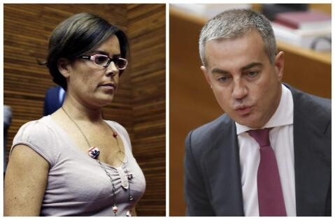 Yolanda García y Ricardo Costa.