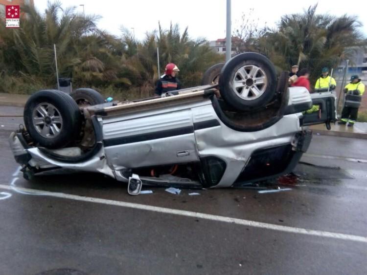 accidente de tráfico en Onda