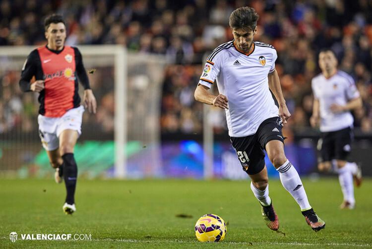 20150117 Liga BBVA Valencia CF v Almeria