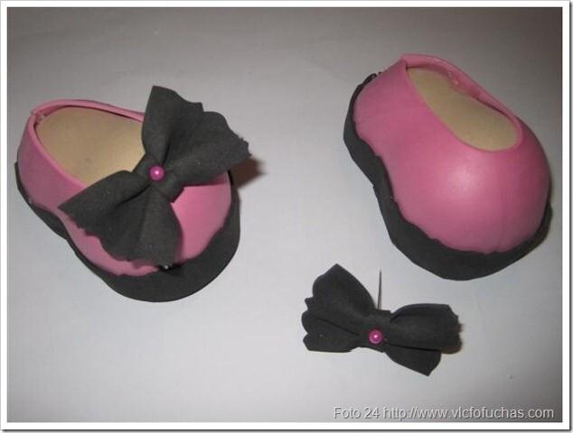 como hacer fofuchas, zapatos (2)