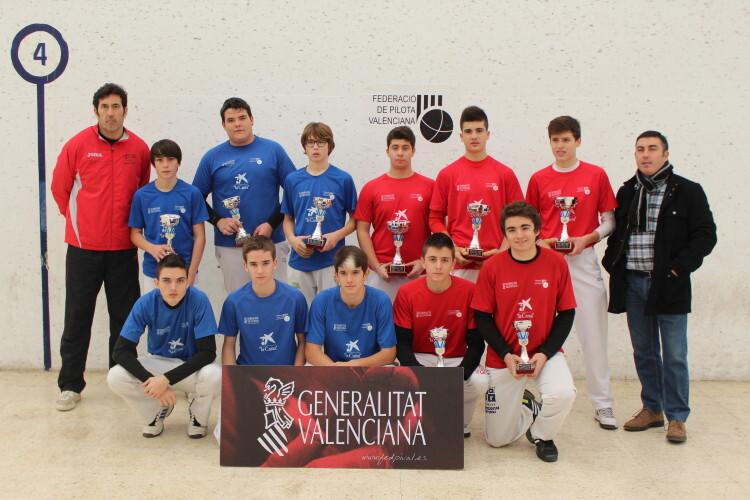 Finalistas de la Lliga Cadete 2014-2015