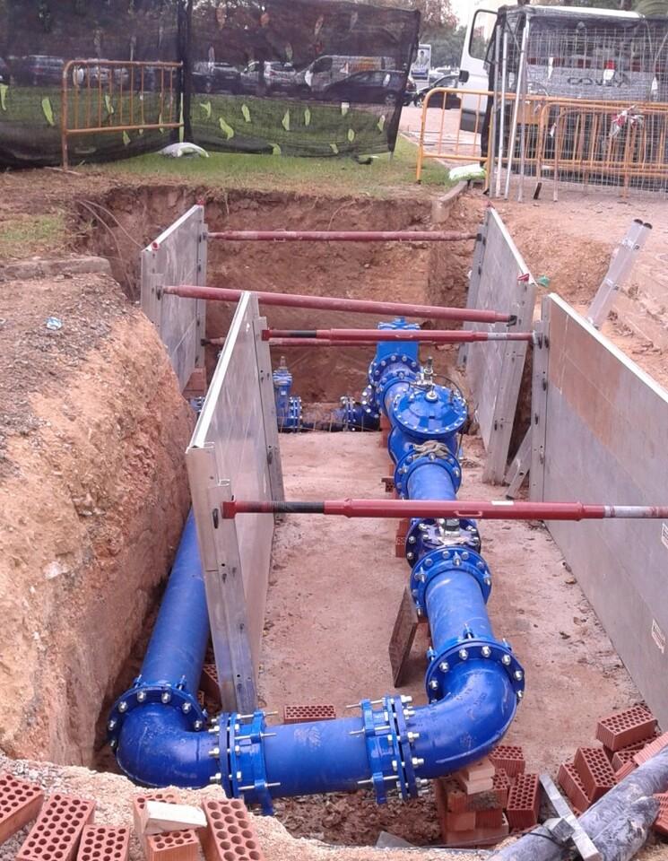 sectorización redes agua
