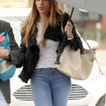 Exclusive... Sofia Vergara Out For Lunch With Her Son In Brentwood