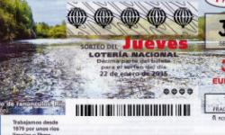Lotería Nacional, Sorteo del jueves de Lotería Nacional 22 de enero de 2015