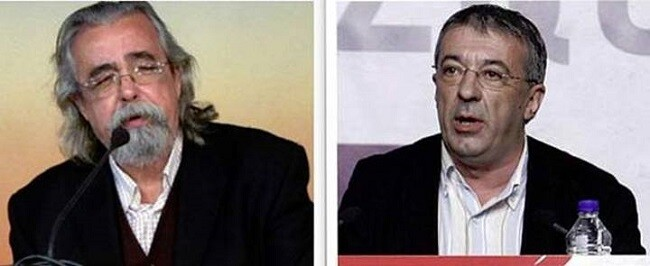 Ángel Pérez y Gregorio Gordo.