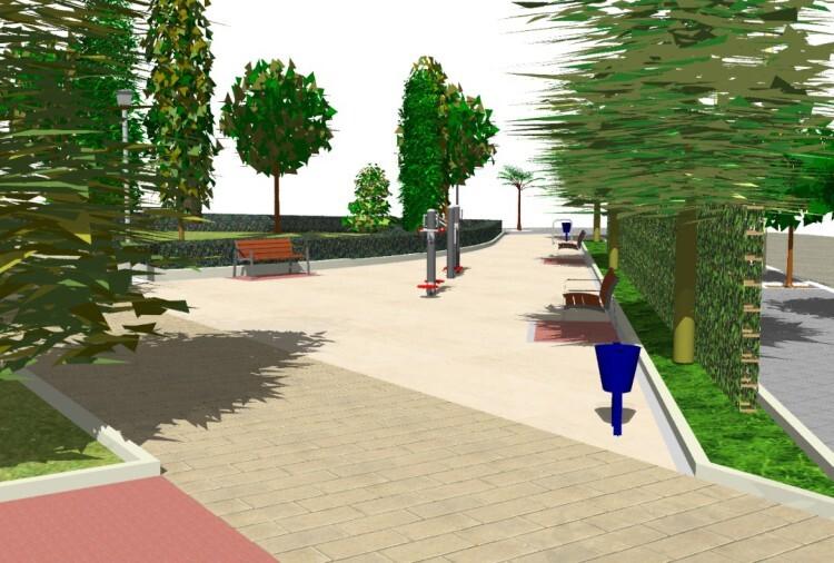 Futuro jardín de Avenida Constitución - C/ Alcudia de Crespins