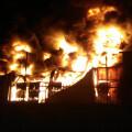 Incendio de una nave industrial en Crevillent