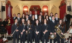 Nous_membres_de_la_Banda_de_la   Societat Artística musical d'Alginegt