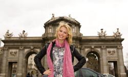 Alexandra Beaton, protagonista de The Next Step visita Madrid disney (4)