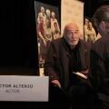 Alterio comenta la  labor del actor dentro de la escena teatral. (Valencia Noticias)